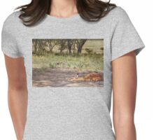 A Little One's Peace on Earth Womens Fitted T-Shirt