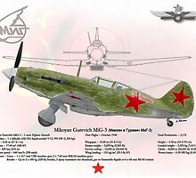 Mikoyan Gurevich MiG-3 by A. Hermann