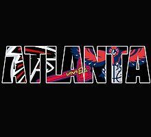 Atlanta sport teams mash up by American Artist