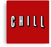 Netflix & Chill Canvas Print