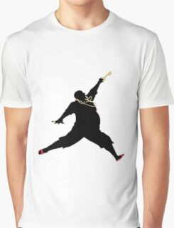 DJ Khaled Key to Success - Jordan (Black) Graphic T-Shirt