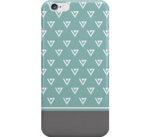 Seventeen logo - Blue&Grey iPhone Case/Skin