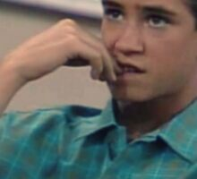 Zack Morris is bae Sticker