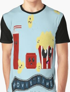Movie Time Graphic T-Shirt