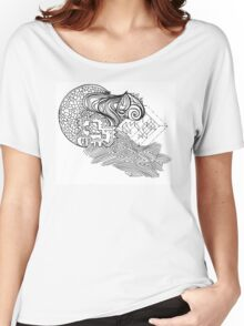 Mixed Puzzle Pieces  Women's Relaxed Fit T-Shirt