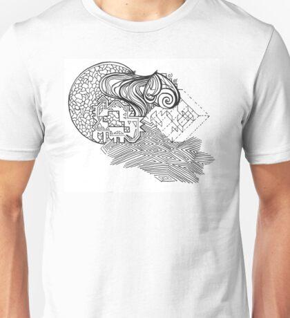 Mixed Puzzle Pieces  Unisex T-Shirt