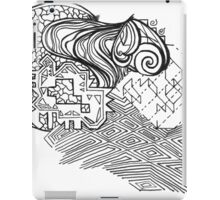 Mixed Puzzle Pieces  iPad Case/Skin