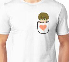 Pocket Makoto Tachibana Chibi Peach heart Unisex T-Shirt