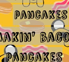 Bacon Pancakes Sticker