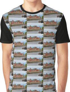 Dublin On The River Liffey Graphic T-Shirt