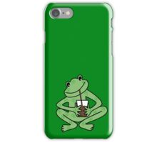 Alberto Frog iPhone Case/Skin