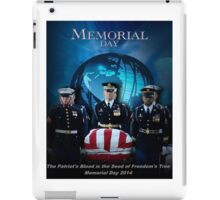 Memorial Day - Patroit's Blood iPad Case/Skin