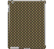 British-style black and tan amplifier grill cloth iPad Case/Skin