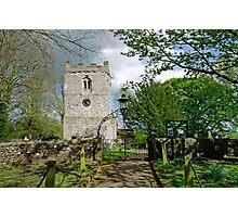 St Leonard's Church, Thorpe, Derbyshire Photographic Print
