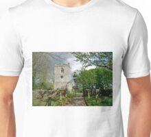 St Leonard's Church, Thorpe, Derbyshire Unisex T-Shirt