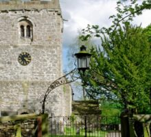 St Leonard's Church, Thorpe, Derbyshire Sticker