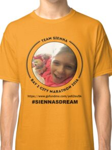 Team Sienna ~ Bay 2 City Marathon 2016 Classic T-Shirt