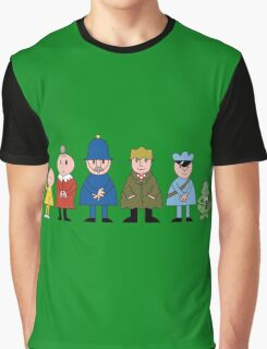 Bod and friends Graphic T-Shirt