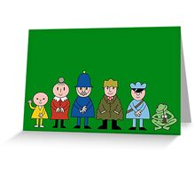 Bod and friends Greeting Card
