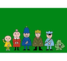 Bod and friends Photographic Print