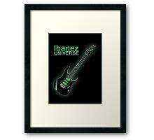Ibanez Universe Framed Print