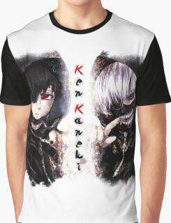 Ken Kaneki Ghoul Graphic T-Shirt
