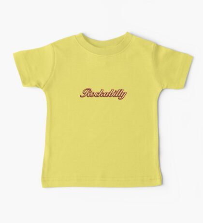 Colorful Rockabilly Baby Tee