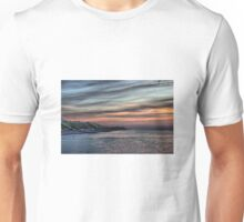 Sunset on Cromer Cliffs Unisex T-Shirt