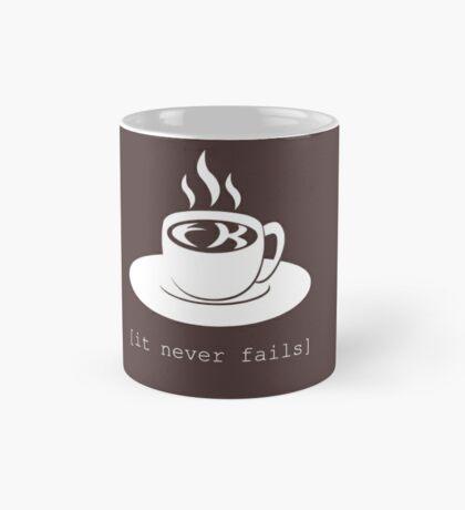FK in the coffee. It never fails. [Deadly Premonition, dark shirt] Mug