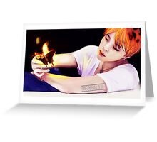 BTS Jimin 06 Greeting Card