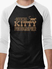 Official KITTY photographer Men's Baseball ¾ T-Shirt