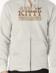 Official KITTY photographer Zipped Hoodie
