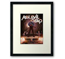 Ash vs Evil dead tv series Framed Print
