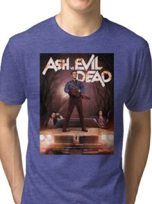 Ash vs Evil dead tv series Tri-blend T-Shirt