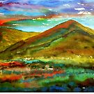 Mourne Abstract 1 by Les Sharpe