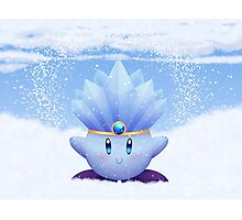 Ice Kirby Photographic Print