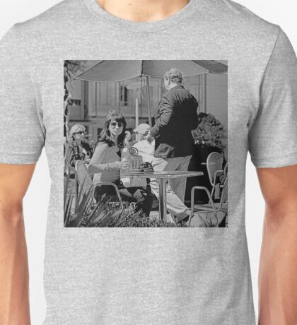 CAUGHT IN THE ACT IN SAN FRANCISCO Unisex T-Shirt