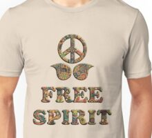 Colorful Free Spirit Unisex T-Shirt