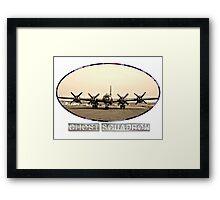 Ghost Squadron B-29 Bomber Framed Print