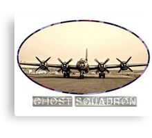 Ghost Squadron B-29 Bomber Canvas Print
