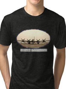 Ghost Squadron B-29 Bomber Tri-blend T-Shirt