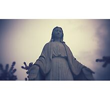 Mary Mother of God Photographic Print