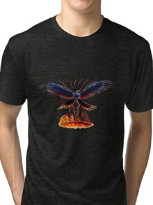 The Summoning of Bahamut Tri-blend T-Shirt