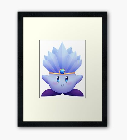 Ice Kirby Framed Print