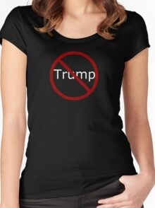 Anti Trump Women's Fitted Scoop T-Shirt