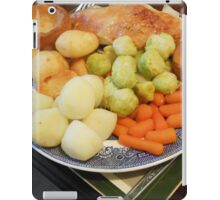 Roast Chicken with Vegetables iPad Case/Skin