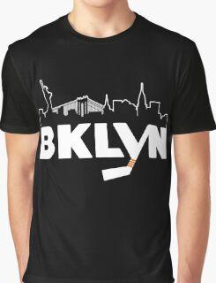 Brooklyn Islanders New York Logo Graphic T-Shirt