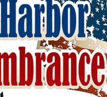 Pearl Harbor Day 75th Anniversary Logo Sticker