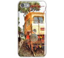 Electric locomotive iPhone Case/Skin
