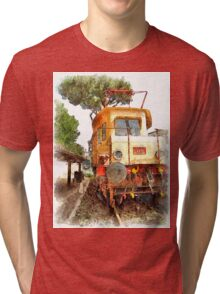 Electric locomotive Tri-blend T-Shirt